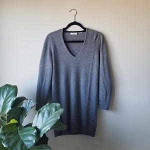 Equipment Rosemary V-neck Cashmere Sweater Dress